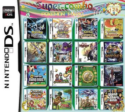 208 In 1 Game Cartridge/ Multi Game Cartridge For Nintendo Ds And 3DS