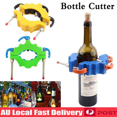 AU Glass Bottle Cutter Tool Green Craft Beer Wine Crafts Decoration Personalize