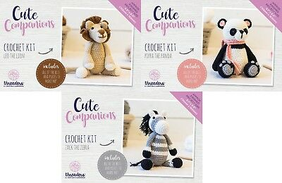 Crafter's Companion - Threaders Cute Companion - Crochet Kit