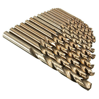 1-8mm HSS-Co Cobalt Twist Drill Bits Various Sizes Metal Stainless Steel Wood