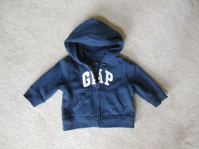BABY GAP Boys Zip up Hoodie Sz 3-6 Months 3M 6M A++++WOW