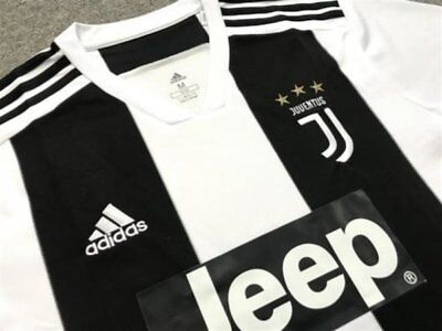 Brand New, Sealed Juventus 2018-2019 Shirt with Ronaldo 7 - Men's Large CR7
