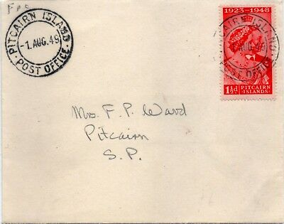 first day cover 1949 silver wedding low value (1.5)