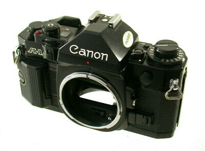 CANON A 1 slr body iconic Gehäuse analog milestone Kult FD classic TOP!! /18