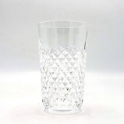 "Beautiful WATERFORD Irish Crystal ALANA Highball Glass ~ 5"" Tall"