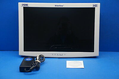 "Karl Storz SC-WU26-A1515 26"" HD WideView Monitor ~ 12158hrs scratched screen"
