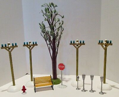 Dept 56- Christmas Villages- Scenery- No Boxes