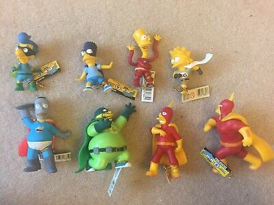 The Simpsons Limited Ed. Caped And Courageous Figurine Series 5  New 2005
