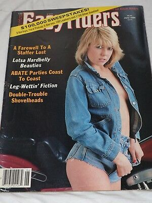 Easy Rider Magazine #132 JUNE 1984 A Farewell to a Staffer Lost Lotsa Hardbelly