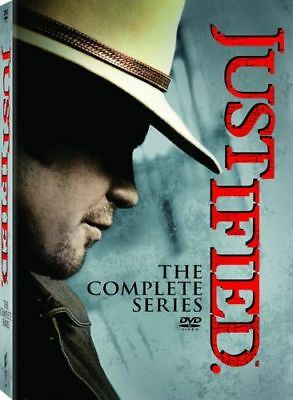 Justified: The Complete Series Season 1 2 3 4 5 6 (DVD 2015 18-Disc Box Set) new