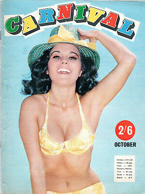 CARNIVAL:October 1968-Popular Mens' Monthly Magazine-Dawn Grayson Photographs