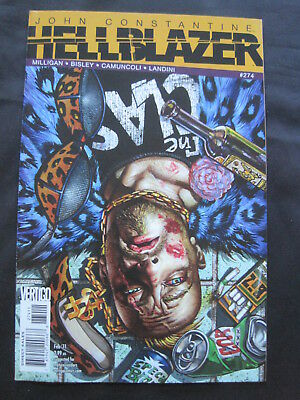 HELLBLAZER Vol 1 issue 274 by PETER MILLIGAN,SIMON BISLEY, CAMUNCOLI. DC VERTIGO