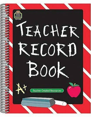 Teacher Record Book by Teacher Created Resources 9781576901199