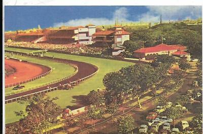 INDIA, Mumbai Race Course postcard