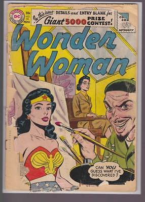Wonder Woman # 86  Guess What I've Discovered ?   grade 1.0  scarce book !