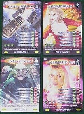 Bundle Lot of 20+ Doctor Who Battles In Time Annihilator Common Trading Cards