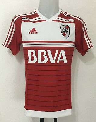 River Plate 2015/17 S/s Away Shirt By Adidas Size Men's Small Brand New