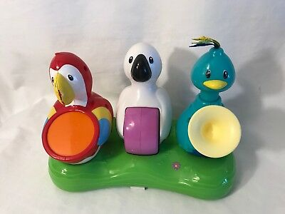 Evenflo Exersaucer Triple Fun Jungle BIRDS BAND Replacement Part Toys Safari  B2