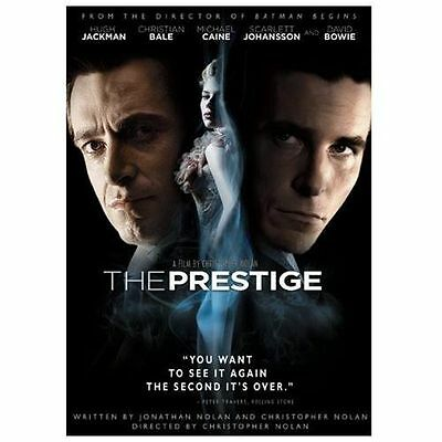 The Prestige (DVD, 2007, Widescreen) **DISC ONLY** Hugh Jackman, Christian Bale