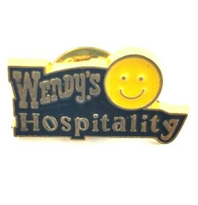Wendy's Lapel Pin - Wendy's Hospitality - Smiley Face