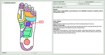 "Vedapulse Professional Extension Software ""foot Massage"" English Version"