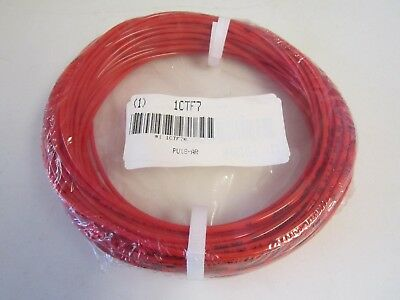 ATP Poly Tubing -PU182AR- 1/8 In. OD, 100 Ft. Long, 240 PSI, Shore A 98, Red
