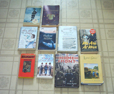 Lot of 10 Books - WWII Wartime Britain Holocaust Homefront