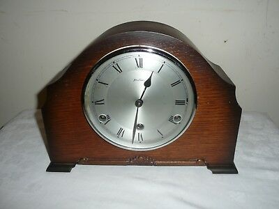 Bentima, Westminster Chimes Mantle Clock, Perivale Movement. Great Condition.