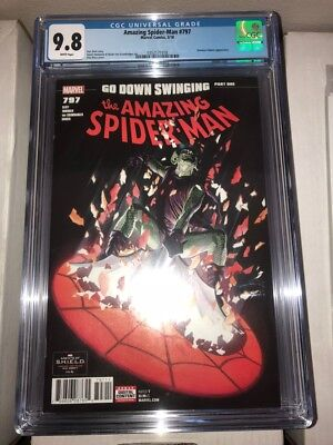 Amazing Spiderman #797 CGC 9.8 Green Goblin Alex Ross free shipping