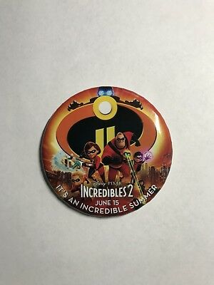 Incredibles 2 pin Limited Edition(Only Found At Disney Parks On June 15)