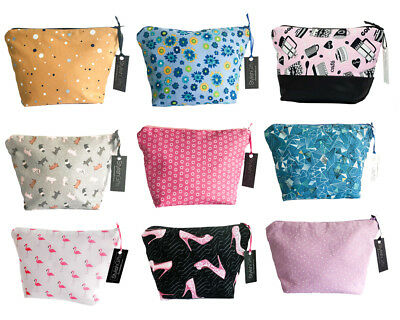 Wholesale Joblot Cosmetic Bags-Pack of 9 Unique Make-up/Cosmetic Bags WHG01