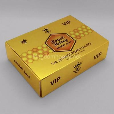 Large Box  Authentic Royal VIP Honey Golden 12 Satchets 20g New
