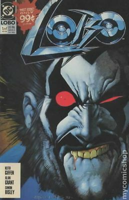 Lobo (1st Series DC) 1A 1990 1st Printing VG 4.0 Stock Image Low Grade