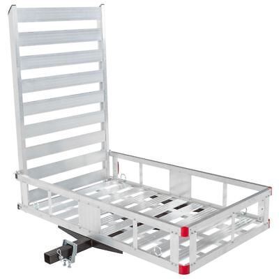 Aluminum Economy Mobility Scooter Carrier Rack Medical Ramp Hitch Mount
