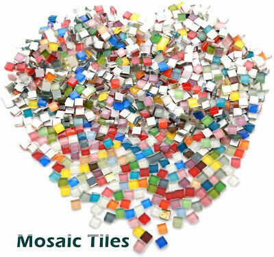 2000 Mosaic Tiles 'The Full Mix. Arts & Crafts. Schools, Tessera Mixed Mosaic ZX