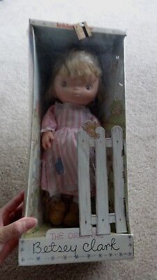 Vintage 1975 Knickerbocker Betsey Clark Doll Unopened in Box