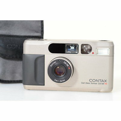 Contax T2 35mm Compact Camera with Carl Zeiss Sonnar 2.8/38 T