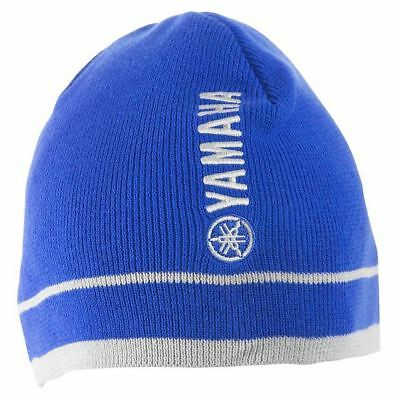 OEM Yamaha Outboard Watercraft Motorcycle Royal Blue Stone Cold Beanie Hat