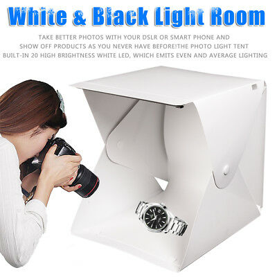 Light Room Photo Studio Photography USB LED Lighting Tent Backdrop Cube Mini Box