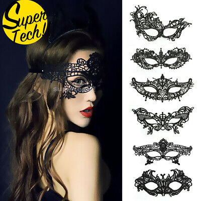 Lace Eye Mask Masquerade Women Ladies Party Fancy Dress Costume Halloween Xmas