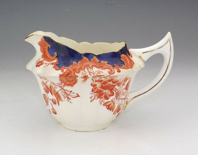 Foley Wileman & Co Porcelain - Oriental Imari Inspired Milk Jug - Lovely!