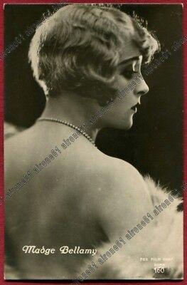 MADGE BELLAMY 10 ATTRICE ACTRESS ACTRICE CINEMA MUTO SILENT MOVIE real photo