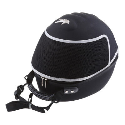 Motorcycle Trunk Travel Tail Top Box Luggage Helmet Storage Case S- Size