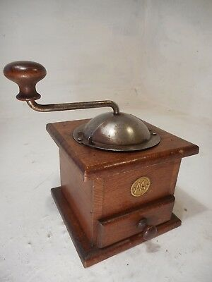 Vintage French Coffee Grinder   ref 4119