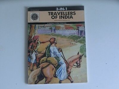 Amar Chitra Katha Travellers Of India 3 in 1
