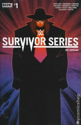 WWE Survivors Series 2017 Special (Boom) 1B VF Stock Image
