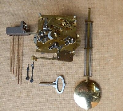 Franz Hermle Westminster Chiming Wall Clock Movement Complete 2818b