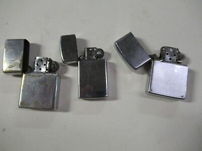 Vintage Lot of Zippo Lighters