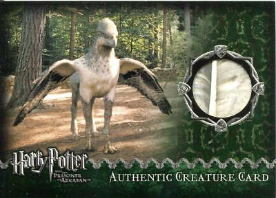 Harry Potter Prisoner Of Azkaban Update Prop Card Buckbeaks Feather