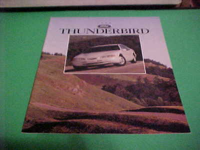 1996 Ford Thunderbird Auto Dealer Brochure Excellent